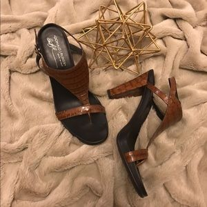 Donald J Pliner Peggy Heeled Sandals